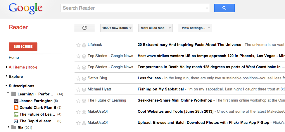 07-02 Plain Google Reader