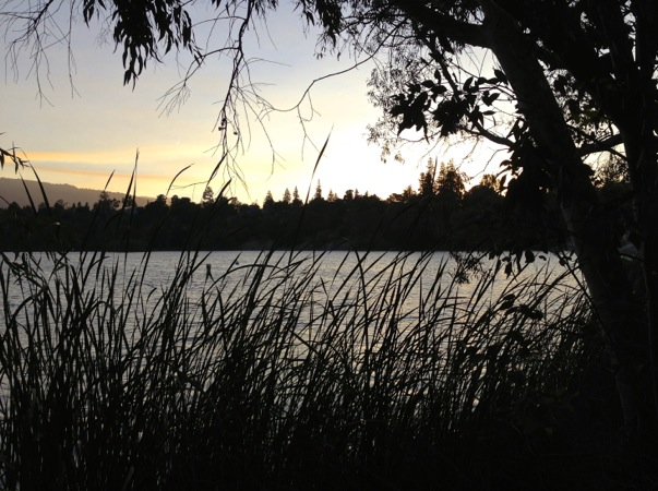 04-22 Sunday Evening Lake Vasona